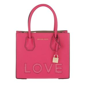 Michael Kors Love Mercer Studio MD Messenger Pink